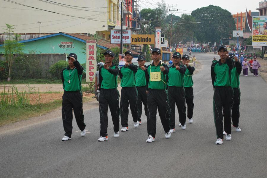 Tim Gerak Jalan Pria RSUD Kota Prabumulih