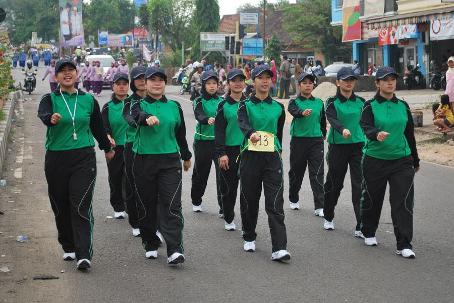 Tim Gerak Jalan Wanita RSUD Kota Prabumulih