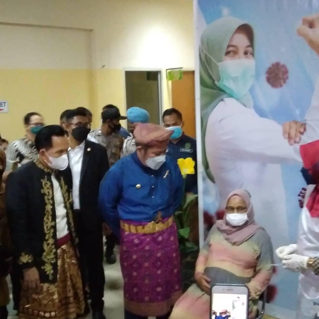 Gubernur Sumsel kunjungan ke RSUD Kota Prabumulih Dalam rangka peresmian Gedung Laboratorium PCR