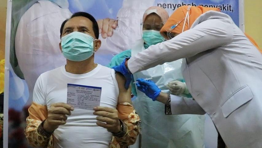 Pemerintah Kota Prabumulih Memulai Vaksin di RSUD Kota Prabumulih